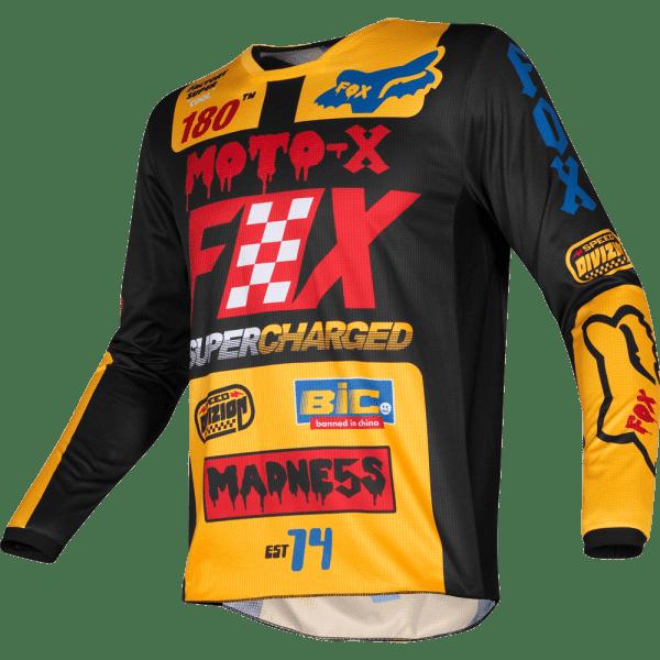 FOX Racing 180 Czar Yellow 3