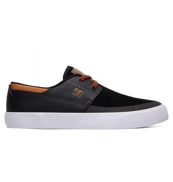 נעליים שחור חום DC Shoes דגם Wes Kremer צבע שחור juo