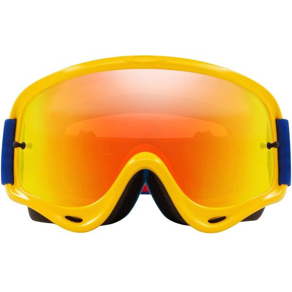 Oakley O Frame Yellow Blue 2